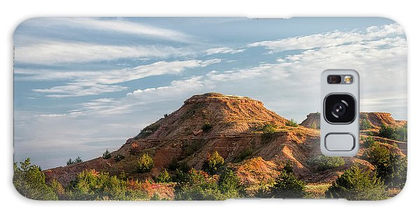 Galaxy Case featuring the photograph The Red Hills by Scott Bean