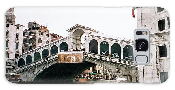 Dick Goodman Galaxy Case - The Rialto Bridge  by Dick Goodman