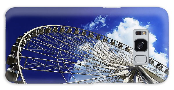 Galaxy Case featuring the photograph The Ride To Acrophobia by Rick Locke