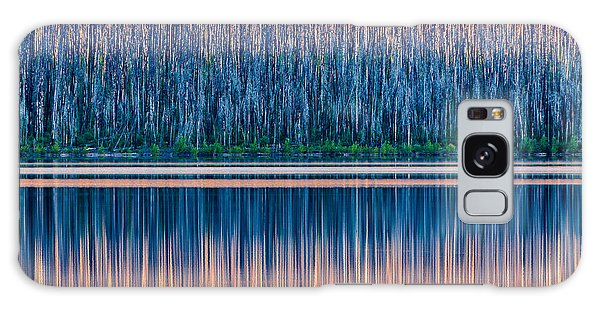 National Park Galaxy Case - The Rising Sun Paints Trees Devastated by Jared Ropelato