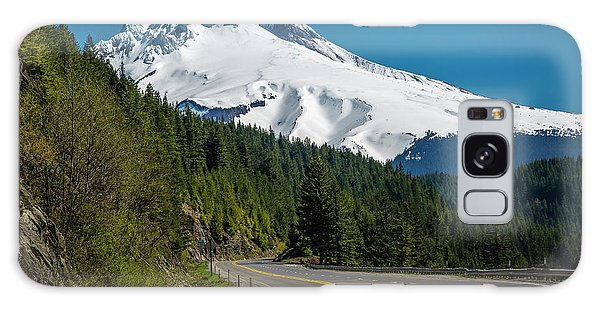 The Road To Mt. Hood Galaxy Case