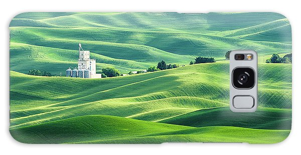 The Rolling Fields Of Palouse Galaxy Case