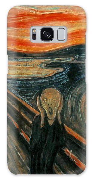 The Scream  Galaxy Case