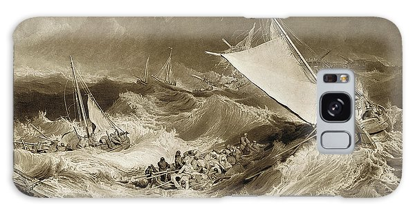 Shipwreck Galaxy Case - The Ship Wreck, 1807 by Charles Turner