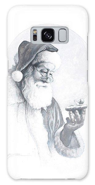 Santa Claus Galaxy Case - The Spirit Of Christmas Vignette by Greg Olsen