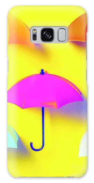 Parasol Galaxy Case - The Sun Shower Scene by Jorgo Photography - Wall Art Gallery