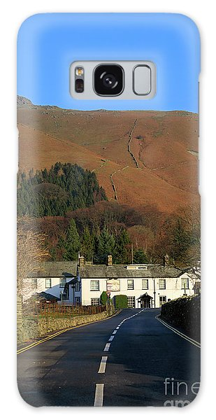 Grasmere Galaxy Case - The Swan Inn And Rydal Fell From Grasmere Village Lake District by Louise Heusinkveld