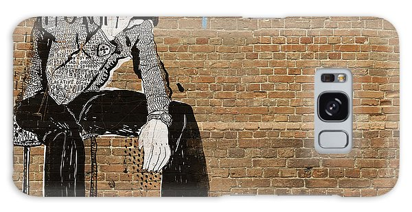 Bricks Galaxy Case - The Symbolic Image Of The Man Who Sat by Dmitriip