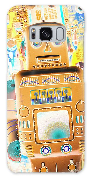 Technology Galaxy Case - The Transistor Bot by Jorgo Photography - Wall Art Gallery