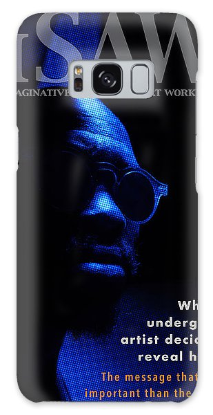 Galaxy Case featuring the digital art The Underground Artist by ISAW Company