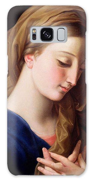 Annunciation Galaxy Case - The Virgin Annunciate by Pompeo Girolamo Batoni