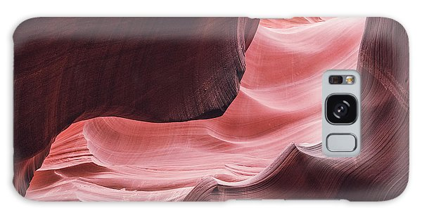 The Wave, Lower Antelope Canyon, Page, Az  Galaxy Case