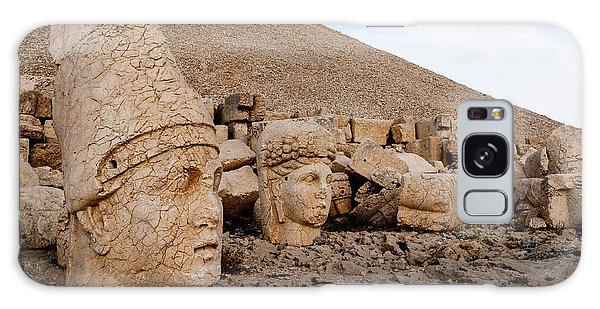 Mythology Galaxy Case - The West Terrace Of Mount Nemrut With by Cornfield
