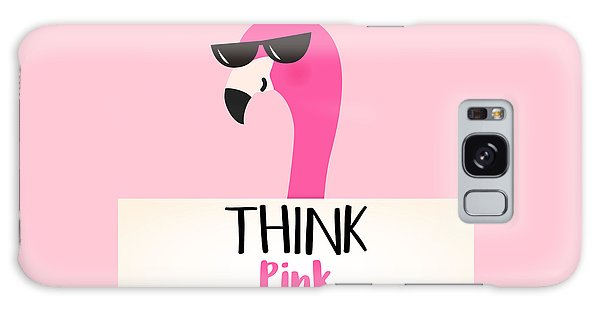 Think Pink - Baby Room Nursery Art Poster Print Galaxy Case