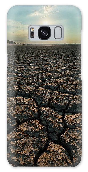 Galaxy Case featuring the photograph Thirsty Ground by Davor Zerjav