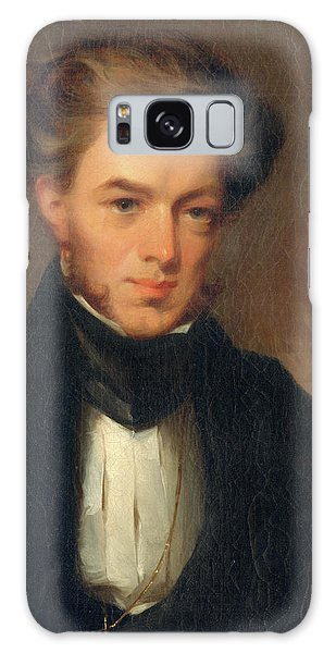 Portrait Of Thomas Ustick Walter, 1835 Galaxy Case