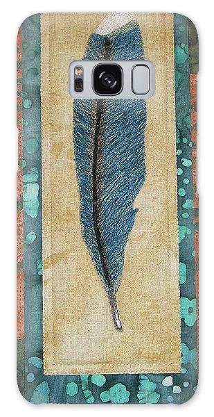 Threaded Feather Galaxy Case