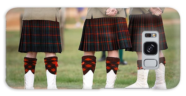 Scottish Galaxy Case - Three Scottish Solders Dressed In Kilts by Mark Atkins