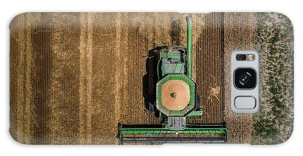 Through Wheat Galaxy Case