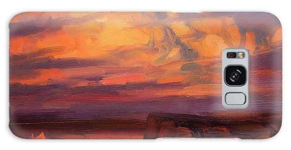 Ominous Galaxy Case - Thundercloud Over The Palouse by Steve Henderson