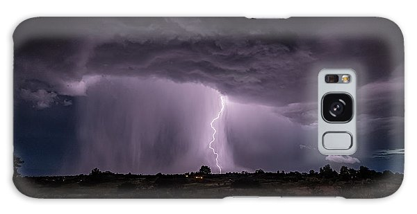 Thunderstorm #4 Galaxy Case