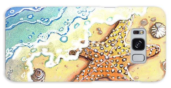 Tidal Beach Starfish Galaxy Case