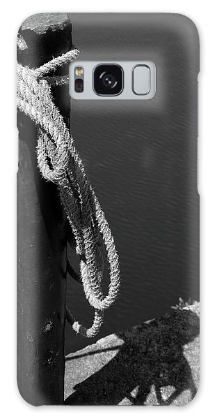 Galaxy Case featuring the photograph Tied, Rope by Edward Lee