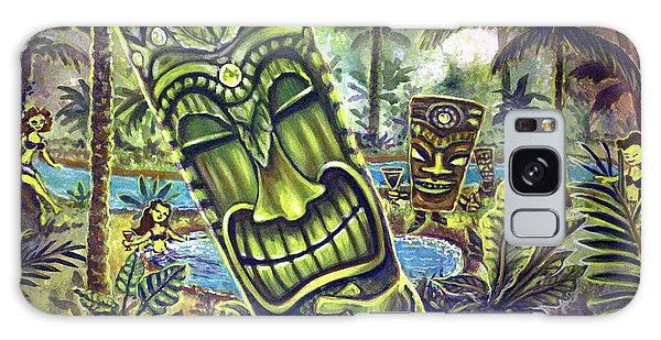Tiki Genie's Sacred Pools Galaxy Case