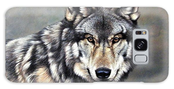 Timber Wolf By Alan M Hunt Galaxy Case