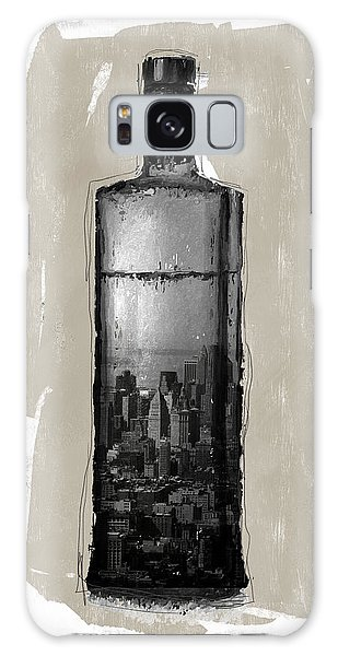 Cart Galaxy Case - Time In A Bottle 1- Art By Linda Woods by Linda Woods
