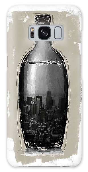 Cart Galaxy Case - Time In A Bottle 2- Art By Linda Woods by Linda Woods