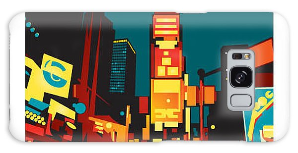 New York City Taxi Galaxy Case - Times Square by Gbreezy