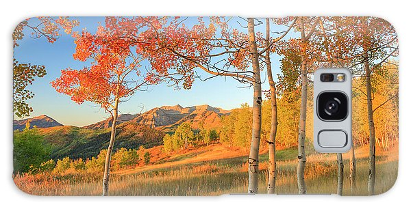 Timp With Fiery Aspens Galaxy Case