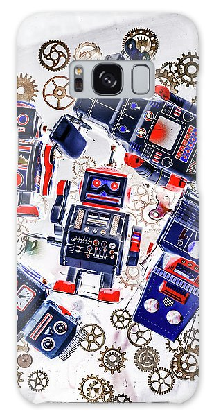 1950s Galaxy Case - Tin Toy Factory by Jorgo Photography - Wall Art Gallery