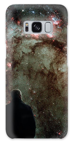 Galaxy Case featuring the photograph To Boldly Go Where No Man Has Gone Before by Bill Swartwout Fine Art Photography
