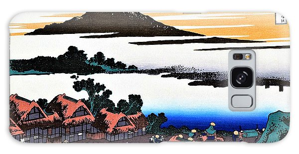 Country Living Galaxy Case - Top Quality Art - Mt Fuji36view-koshu Isawa Sunset by Katsushika Hokusai