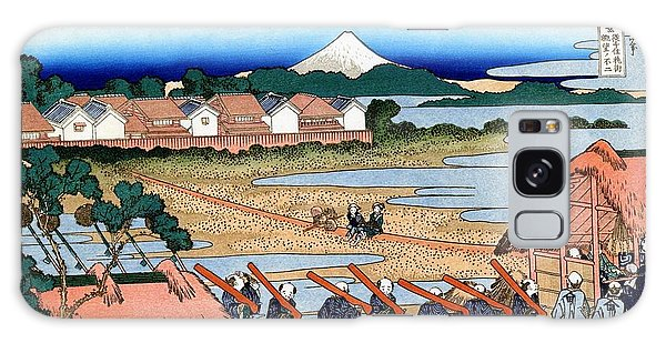 Country Living Galaxy Case - Top Quality Art - Mt,fuji36view-senju Fuji View by Katsushika Hokusai