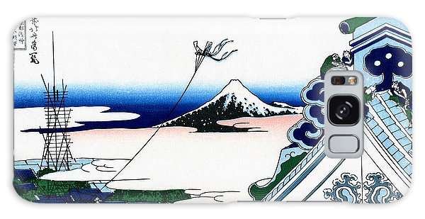 Country Living Galaxy Case - Top Quality Art - Mt,fuji36view-toto Asakusa Honganji by Katsushika Hokusai