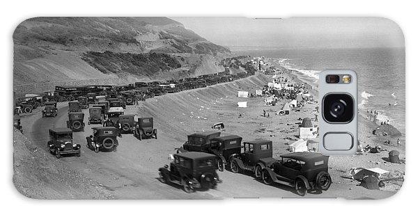 Topanga State Beach 1920 Galaxy Case
