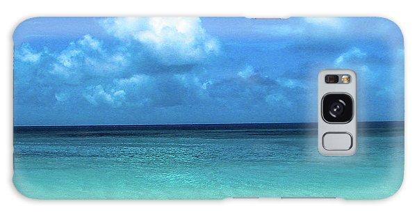 Topical Beach View Anguilla Galaxy Case