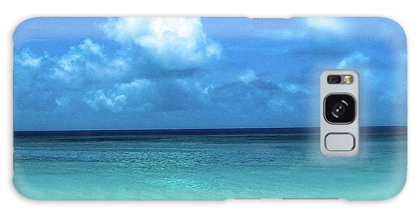 Topical Beach View Anguilla Galaxy Case