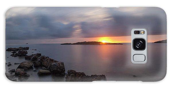 Total Calm In An Ibiza Sunrise Galaxy Case