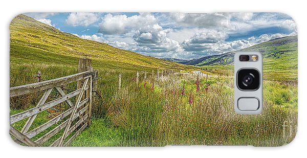 Galaxy Case - Tourist Route Snowdonia by Adrian Evans