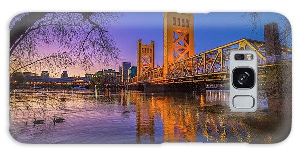 Tower Bridge At Sunrise - 4 Galaxy Case