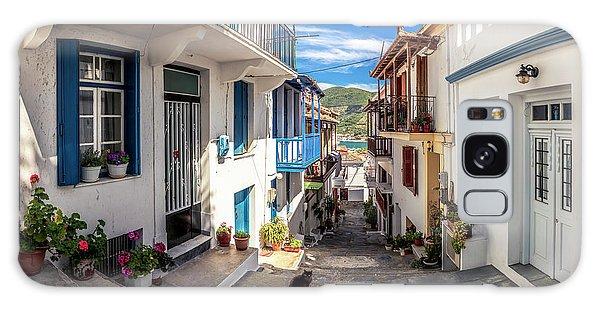 Town Of Skopelos Galaxy Case