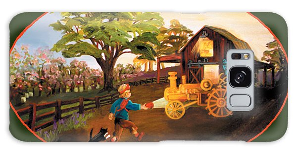 Tractor And Barn Galaxy Case
