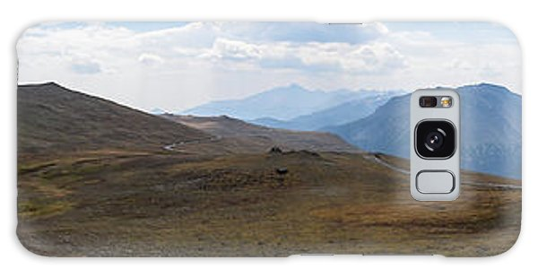 Trail Ridge Road Arctic Panorama Galaxy Case