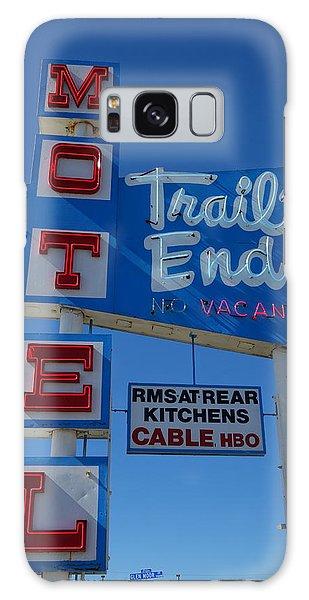 Trail's End Motel Galaxy Case