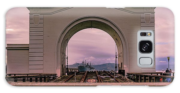 Train To Nowhere Galaxy Case