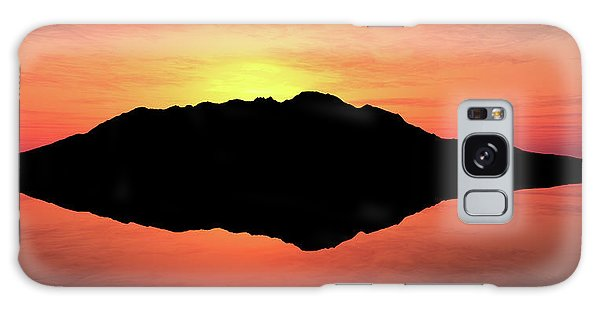 Cloudscape Galaxy Case - Tranquil Island by Johan Swanepoel